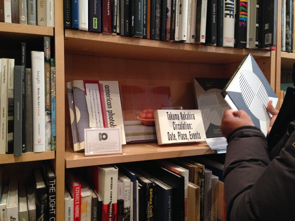 ICP Bookshop (right next to books by Osiris - one of our favorite publishers!)