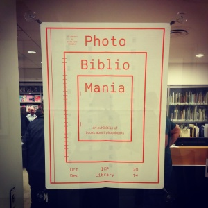 PhotoBiblioMania at ICP Library